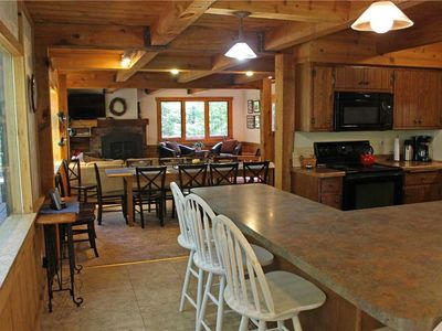 Photo for A Gorgeous Trailside Vacation Home Along the Alpen Trail with Outdoor Hot Tub And Allows Dogs