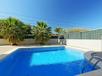 Photo for 2 bedroom Apartment, sleeps 5 in Vilafortuny with Pool and Air Con