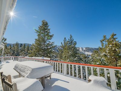 Photo for Wolf Retreat: Amazing Slope and Lake Views in Upper Moonridge! Game Room with Pool and Foosball!