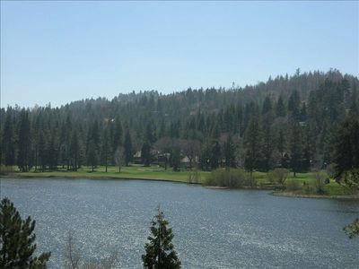 Over looking Grass Valley Lake and the Lake Arrowhead Golf Course - Beautiful!