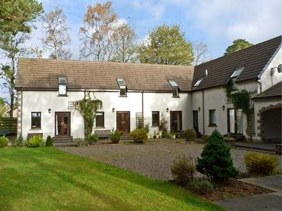 Photo for STEADING 4 BALVATIN COTTAGES, with a garden in Newtonmore, Ref 10525
