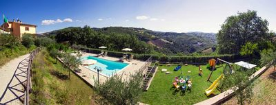 Photo for Beautiful property in solitary position overlooking the hilly landscape of Umbria.