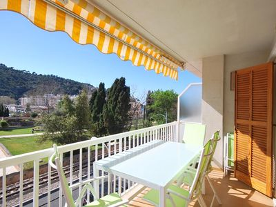 Photo for Bright, spacious apartment close to the beach in Port de Sóller
