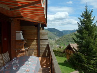 Photo for linked chalet,ski slopes,hiking area,2km from La Bresse