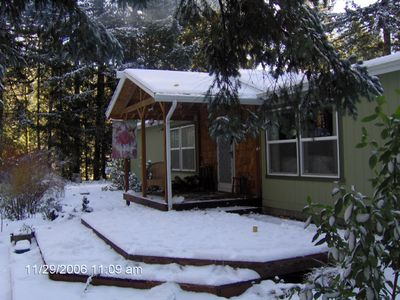 Photo for Sandy River Ski House, Pets Welcome