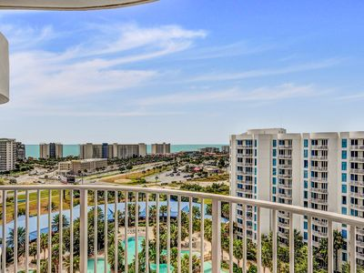 Photo for Palms Resort 11207 Jr 2BR/2BA ☀OPEN Apr 19 to 21 $648!☀TopFloor Views+FunPass!