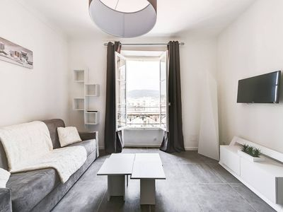 Photo for Modern Apt with Panoramic Views in Heart of Cannes