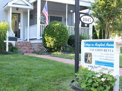 Photo for Nice Maryland Ave 3 Bedroom Cottage Sleeps 2 to 6