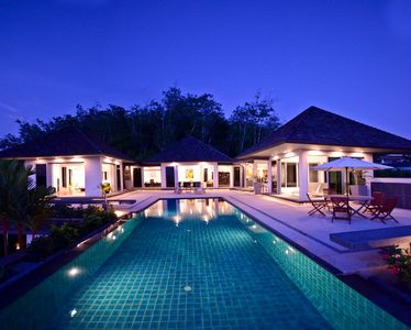 Photo for Exclusive Layan Beach 4 Bed Pool Villa