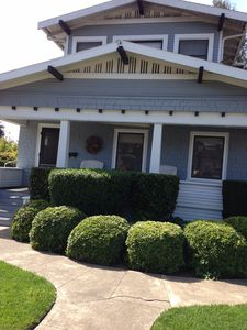 Photo for 1/2 BLOCK FROM DOWNTOWN HEALDSBURG - CHARMING CRAFTSMAN