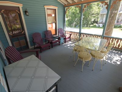 and leeds cottages cottage deck upper rentals thelma rental lea the rent for thousand ivy islands