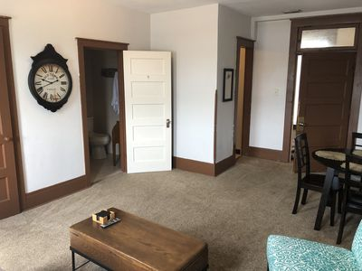 Photo for Cute Private Boone downtown apartment