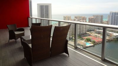 Photo for Luxury Views Beach Walk Pent House 31 Floor
