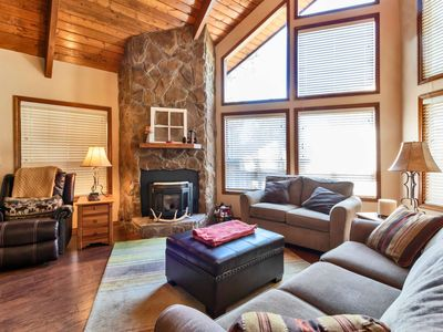 Photo for Cabin in the Pines! 3 Level, Dog Friendly, Near Flagstaff, BBQ/Fireplace, Walking distance to lake!