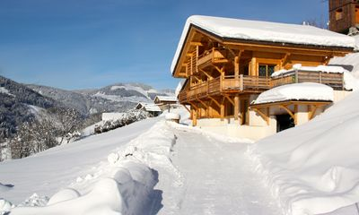 Photo for EXCEPTIONAL CHALET with JACUZZI and electric mountain bike