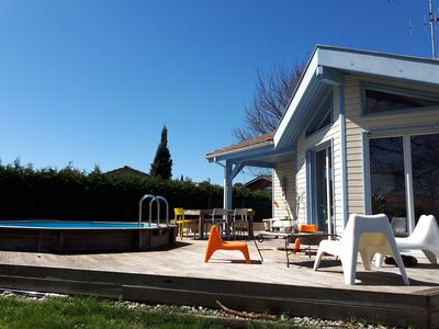 Photo for 4BR Villa Vacation Rental in Azur, Nouvelle-Aquitaine