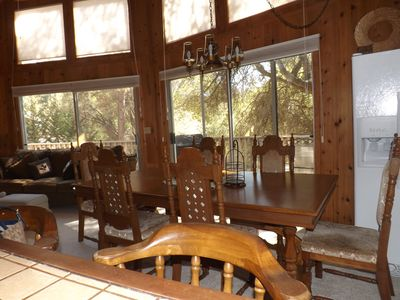 Photo for Lovely cabin in the beautiful Pine Mountain Lake in Yosemite National Park area.