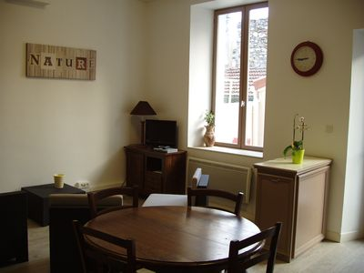 Photo for Apartment with terrace in Hermitage (Wines, Chocolate, Walks)