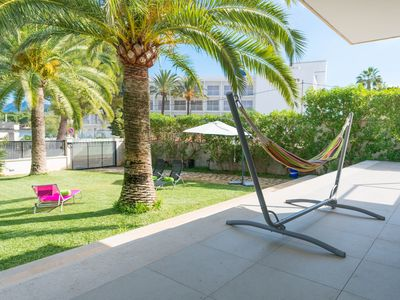 Photo for CAS POBLERS - Chalet with private garden in Barcarés (Alcúdia).