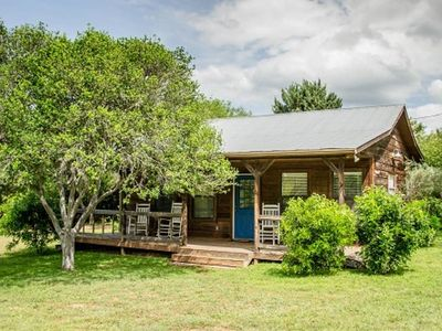 Photo for Open Concept Cabin at the Historic Antlers Inn on Lake LBJ — Texas Hill Country