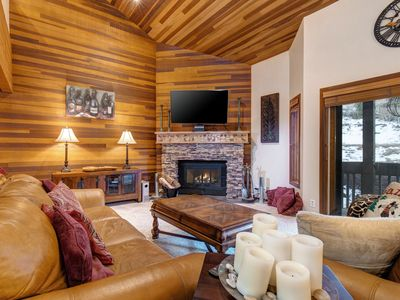 Photo for NEW LISTING! Elegant skier's paradise w/ shared pool, hot tub, sauna, & more!