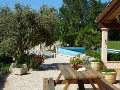 Photo for Villa with private pool, situated in the heart of the Pollensa countryside