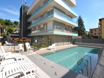 Photo for Apartment Terre Scaligere With Pool - Apartment for 4 people in Torri del Benaco
