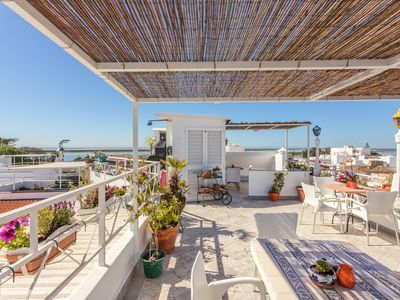Photo for Breathtaking views of Ria Formosa from Suite on top of Pension Bicuar
