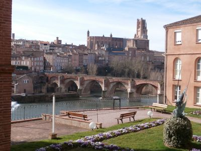 Photo for ALBI: NICE APARTMENT 4 PEOPLE WITH BEAUTIFUL VIEW on CATHEDRAL
