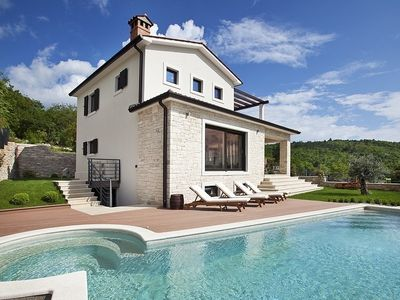 Photo for Lovely Villa Royal Blue, in Istria, with a Pool
