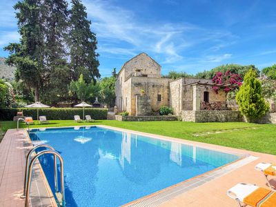 Photo for Villa Kontis - This Large Villa includes a private pool, WI-FI & A/C