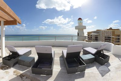 Corto Maltes 305 Playa del Carmen Roof Top Area