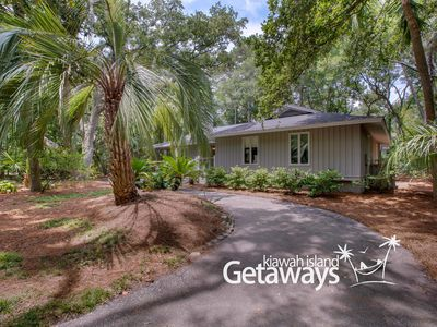 Photo for 7-min Walk from Beach, 2-Person Hot Tub, Indoor Fireplace AND Outdoor Firepit