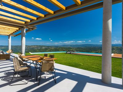 Photo for Luxury villa- breathtaking panoramic views  and infinity pool