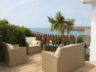 Photo for Holiday House With Fantastic Sea and Beach Views Higher Tristram, Polzeath