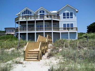 Photo for OCEANFRONT HOME WITH ELEVATOR COMMUNITY POOL