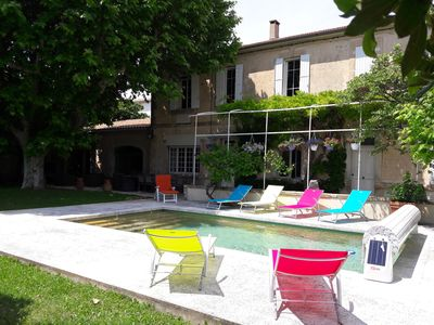 Photo for AUTHENTIC PROVENCAL MAS WITH SWIMMING POOL