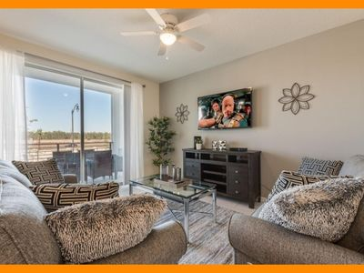 Photo for Storey Lake Resort 55 - Stylish open-plan condo with private terrace near Disney