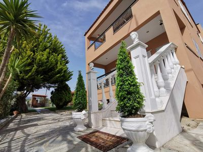 Photo for Deluxe Villa 140 m² with Sea and Mountain view in Limenaria Thassos