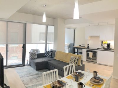 Photo for Luxury Executive Loft-Style Condo in Central Toronto, Free Parking