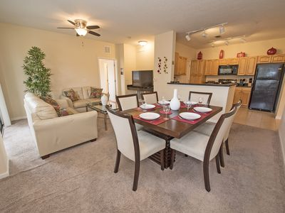 Photo for Luxury 2BR/2BA Condo, 6 people, near Disney with Pool!