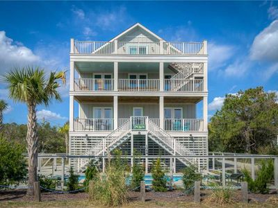 Photo for Parker's Perch: 8 BR / 8.5 BA house in Pawleys Island, Sleeps 22