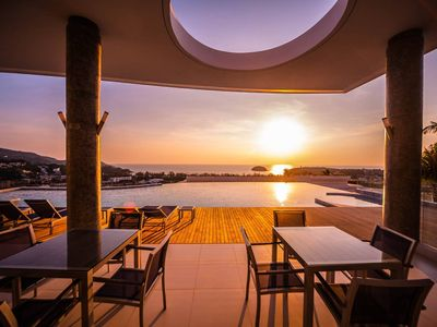 Photo for Panoramic Sea View - Classy Luxury 2-Bdr Villa