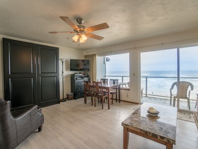 """Photo for """"Surf and Sand"""" - Enjoy the surf and the sand from this Oceanfront condo!"""