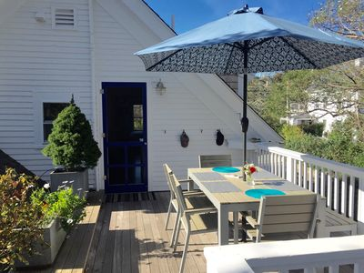 Photo for Privacy in Heart of PTown - Great Light; Private Deck; Steps to Beach; Parkin