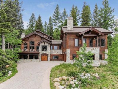 Photo for Expansive Lake and Mountain View Estate Resort Home with Private Apartment