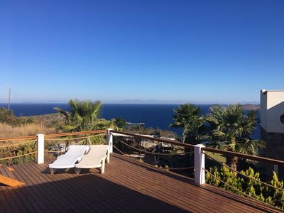 Photo for Duplex 3 bed Villa with Stunning Sea Views and Private Pool
