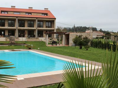 Photo for Ref. 12029 Luxurious apartment on farm with pool in O Grove