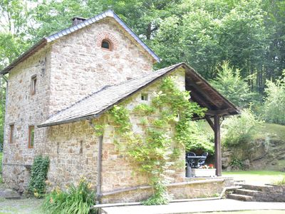 Photo for Cottage in the countryside, in the middle of the Ardennes forest,romantic garden