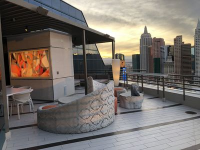 Photo for 1300sf EXCLUSIVE  Vip Skyline Terrace Suite Largest Balcony Suite!